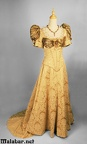 Late Victorian day female gold