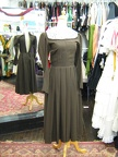 1940's dress brown