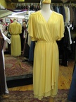 80's Dress yellow
