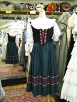 Dirndl green medium 2
