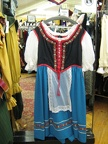 Dirndl large blue skirt