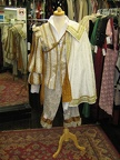 Cavalier man white & gold with cape