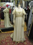 Dress Empire  Ivory & Gold